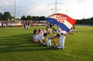 Igrači Marsonie Frickenhausen/Foto: B. Žepić