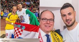 1.Hrvatska zastava u slavlju Monaca 5