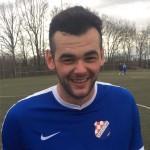 Dvostruki strijelac za Croatiju Pero Mamić