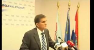 Goran Marić je sa saborske govornice napadao uvođenej poreza na nekretnije. A danas? Foto: Screenshot
