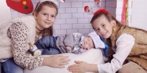Sestra Melanie, brat Viggo i Stephanie