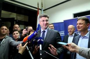 Andrej Plenković/Foto Hina