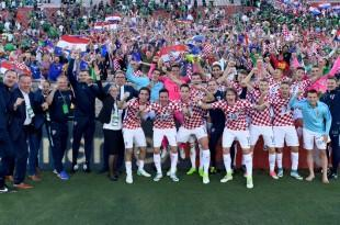 Hrvatska razbila Meksiko Foto:HNS/CFF