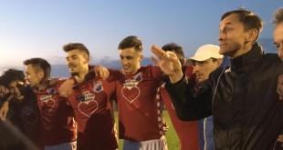Igrači Croatije Reutlingen s trenerom Markom Mutapčićem