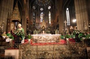 Kardinal Bozanić na misi u katedrali Foto:Hina