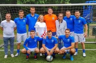 Pobjednička momčad Futsal Dinama sa Marijanom Petir Foto: Nikolina Vrbančić