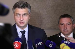 Andrej Plenković i Predrag Štromar