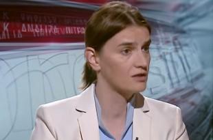 Premijerka Srbije Ana Brnabić  /Foto:SAP