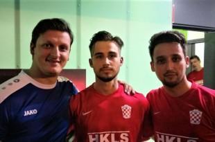 Denis Grančić (u sredini) bio je dvostruki strijelac za Croatiju / Foto:Fenix Magazin