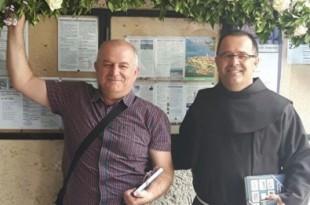 Fra Jure Zebić i fra Zvonko Tolić proslavili 25. obljetnicu svećeništva Foto: FPPO