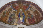 Detalj unutrašnjosti crkve Gospina usnuća u Jeruzalemu gdje je i povijesni hrvatski grb / Foto:Fenix Magazin