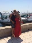"""Fenixove čitateljice Marijana i Mira iz Njemačke su u domovini na odmoru. Uživaju u društvu i """"lipom splitskom suncu"""" i poručuju: """"Neće biti lako vratiti se u Njemačku..."""""""