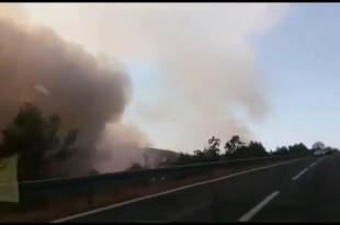 Požar u Đevrskama buknuo je u  poslijepodnevnim satima