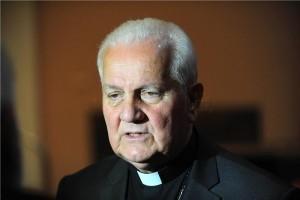 Biskup banjalučki Franjo Komarica/Foto:Hina