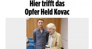 Robert Kovač je spasio 72-godišnjeg umirovljenika od pljačkaša