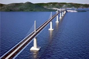 Pelješki most / Foto: Hina