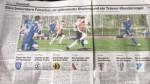 Velika slika s utakmice NK Pajde u Basler Zeitungu
