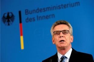 Njemački ministar unutarnjih poslova Thomas de Maiziere