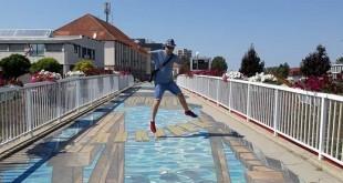Julijan Marojević na vukovarskoj turističkoj atrakciji