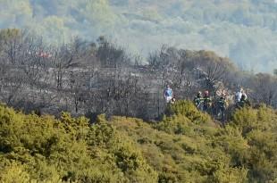 Požar u Kožinu kod Zadra