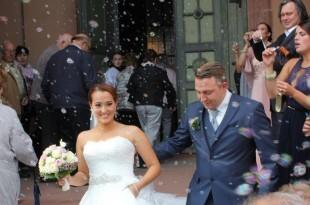 Dafina Budimir, pravnica i ranija suradnica Večernjeg lista i Fenix Magazina,  vjenčala se  za svog odabranika Maxa Mortensen-Russbûldta