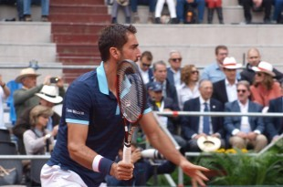 Prvi dan susreta za mjesto u Svjetskoj skupini Davis Cupa tenisača između Kolumbije i Hrvatske u Bogoti rezultat je 1:1/ Foto: Hina