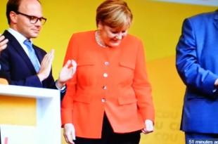 Angelu Merkel u Heidelbergu napali rajčicama