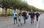 Hrvatski navijači iz Frankfurta trčali su s Tokićem i po par stotina metara / Foto:Fenix Magazin