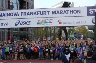 Start Mainova Frankfurt Marathona / Foto: Fenix Magazin