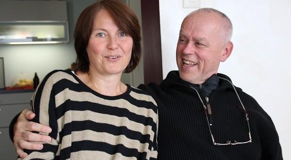 Viljem Lutz sa suprugom Beatom