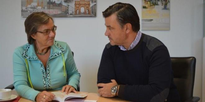 Manuela Stock  und Paul Bajic