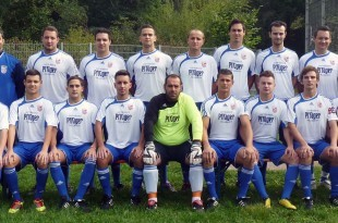 Nogometna momčad Zrinskog iz Waiblingena / Foto:Fenix Magazin/B.Ž.
