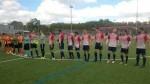 Početak utakmice Croatia - Tetova