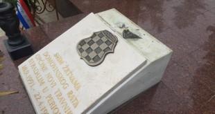 Spomenik braniteljima HVO-a u Novom Travniku /Foto:Radio Vitez