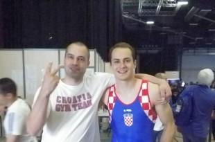 Tin Srbić (desno) izborio finale u Montrealu  / Foto:Hrvatski sokol