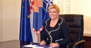 Hrvatska predsjednica Kolinda Grabar-Kitarović / Foto: Hina