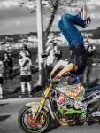 Matija Podhraški vozio motocikl 4 km na glavi /Foto: Hrvoje Božičević