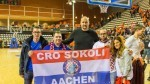 Navijači Cro Sokola iz Aachena sa Dinom Rađom