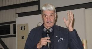Arhivska snimka admirala Davora Domazeta-Loše s predavanja u Müenchenu / Foto: Fenix Magazin / N.Caktaš