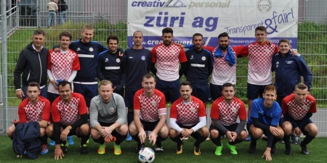 Igrači i uprava Croatije Zürich / Foto:Fenix Magazin - Ivan Barišić