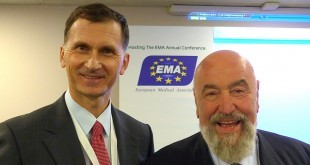 Prof.  Dragan Primorac i dr. Vincenzo Costigliola