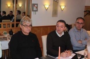 Franjo Husaina i Josip Begić iz Cro Berlin i Ivo Duvnjak (Croatia Frankfurt) / Foto:Fenix Magazin