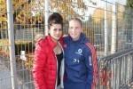 Hrvatske nogometašice Kristina Šundov i Ana Maria Crnogorčević