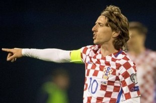 Hrvatski kapetan Luka Modrić / Foto: Hina