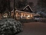 "Zimska idila restorana ""Am Römerbrunnen"" u Bad Homburgu / Foto:Fenix Magazin"