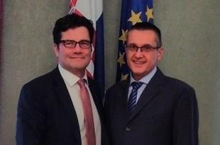 Thomas E. Schultze i Goran Beus Richembergh /Foto:Screenshot Twitter