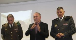 Predavanje o bitci koja je spasila Dubrovnik: poručnik Dario Holenda, novinar Stipe Puđa i bojnik Teo Andrić / Foto: Fenix Magazin