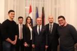 Veleposlanik dr. Gordan Grlić Radman sa hrvatskim studentima iz Münchena i Berlina / Foto:Fenix Magazin