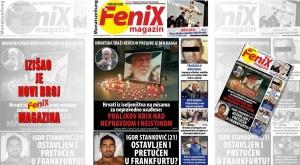 Novi broj tiskanog izdanja Fenix Magazina pronađite na kolodvorima i svim većim prodajnim mjestima međunarodnog tiska u Njemačkoj, Švicarskoj, Austriji i Luxembourgu