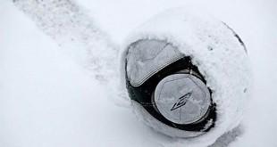 lopta u snijegu